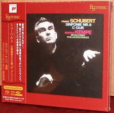 ESOTERIC SACD ESSS-90054: Schubert Sym No. 8 (9) - Kempe - 2011 JAPAN OOP SEALED