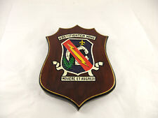 Vintage US Air Force 405th Fighter Wing Air Expeditionary Group Wood Wall Plaque