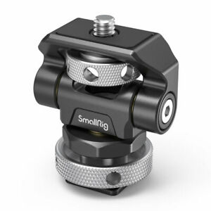 SmallRig Swivel and Tilt Holder Adjustable Monitor Mount W/ Cold Shoe Mount 2905