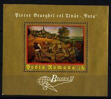 "ROMANIA - 1972 - ""Belgica 72"". Dipinto di Pieter Bruegel -"