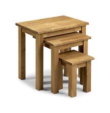 Oak Living Room 3 Piece Table & Chair Sets
