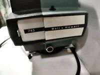Bell & Howell 35mm Filmstrip Projector Model 745 untested