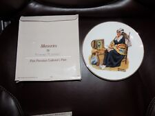Norman Rockwell Set of 4 Decorative Plates 1984 New