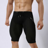 Mens Swim Jammers Quick Dry Shorts Long Swimmers Swimwears Trunks Classic Sports