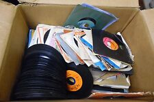 Lot of 162 Different 45rpm Vinyls Picture Sleeves 032912ELDB