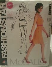 M6699 McCall's Plus Women's NBC Fashion Star Easy Sewing Patterns Sizes 6-14