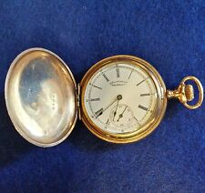 Antique Waltham Pocket Watch 6 Size Hunting Case 7 JewelsS/N 5365045 1892