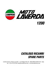 Moto Laverda 1200 Catalogo ricambi - Spare parts catalogue