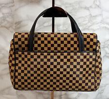Louis Vuitton Tan Damier Sauvage Lionne Handbag (AP 435 )