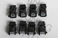 SET 8 EV1 to EV6 Fuel Injector Connector Adapter Jumper LS2 LS3 LSX LS1 LT1