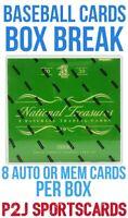 2020 Panini National Treasures BASEBALL Card BOX BREAK 1 Random Team⚾️Break 3945