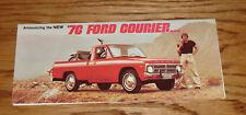 Original 1976 Ford Truck Courier Foldout Sales Brochure 76