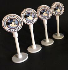 Disney Inspired Monorail Accessory Magical Express Bus Stop Miniature Sign