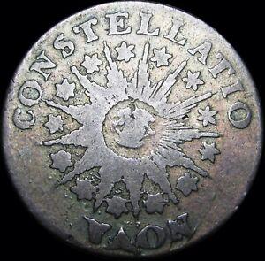 1785 Nova Constellatio Colonial Copper Coin Penny  ---- Nice RARE ---- #D566
