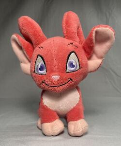 Neopets Series 5 Red Acara Keyquest Plush Stuffed Animal  Toy 2008 Jakks Pacific