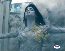 "SOFIA BOUTELLA as THE MUMMY SIGNED 8X10 PHOTO #1 ""STAR TREK, KINGSMAN"" PSA DNA"