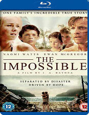 THE IMPOSSIBLE - BLU-RAY - REGION B UK
