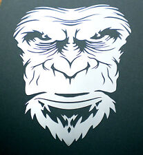 high detail airbrush stencil angry ape FREE UK POSTAGE