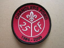 Chandlers Ford 25 Cloth Patch Badge Boy Scouts Scouting L3K D