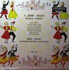 """JIMMY SHAND'S SCOTTISH COUNTRY DANCE BAND Dance Party 10"""" Mono LP 1950's"""