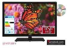 Télévision TV + DVD LED 22' (55 cm)  TNT HD 12V /220V camping car