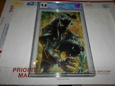 BLACK PANTHER #5 CGC 9.8 BATTLE LINES VARIANT (COMBINED SHIPPING AVAILABLE)