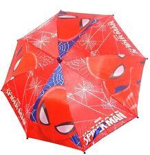 Spiderman rosso Ombrello bimbo bambina parapioggia automatico,originale