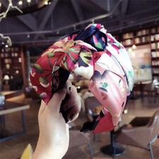 Women's Knot Tie Hairband Headband Twist Fabric Hair Band Hoop Wrap Accessories