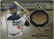 2014 TOPPS JACKIE ROBINSON ROOKIE CLASS 1947 RING CARD WITH GEMSTONES # to 25