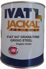 VERNICE ACRILICA FIAT 647  IVAT COLORE GRIGIO STEEL metallizzato doppio strato