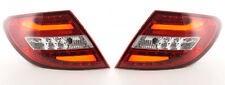LED Lightbar Rückleuchten Set Mercedes Benz C-Klasse W204 2011 - 2014 rot klar