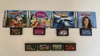 Nintendo Gameboy Advance Game Lot Frogger, Barnyard, Bee Game, Disney, Hot Wheel