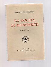 rosso di san secondo - la roccia e i monumenti - dramma in tre atti