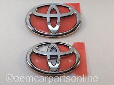 JDM Toyota GT FT 86 ZN6 Front & Rear T Emblem Badges Chrome 13-16 Scion FR-S FRS