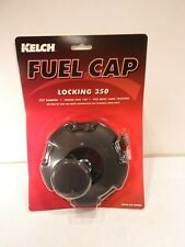 """Kelch 3 1/2"""" 3.5""""  Vented Gas Fuel Cap Many Applications LOCKING!"""