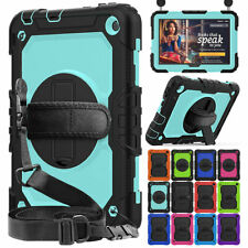 For Amazon Kindle Fire HD 8 Plus HD 8 2020 Tablet Hybrid Case + Screen Protector