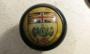 BRDC SHIFT KNOB BRITISH RACING DRIVERS CLUB MG TRIUMPH F1 VINTAGE SILVERSTONE