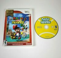 Mario Power Tennis - Nintendo Wii Selects Full Yellow Disc - NO MANUAL