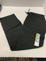 NEW Womens EDDIE BAUER Charcoal Gray Heather Sleep Pants Size Medium $65