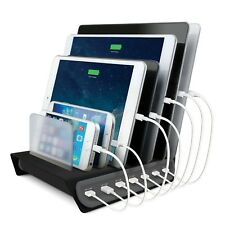 Naztech Quick Charge Power Hub 7 Charging Station -Charge 7 Devices Simultaneous