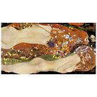 Gustav Klimt, Water Serpents II Deco FRIDGE MAGNET, 1907 Fine Art Repro Gift