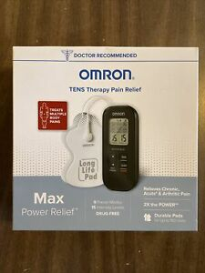 Omron PM500 Max Power Relief TENS Device BRAND NEW