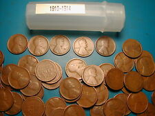 """LINCOLN WHEAT CENT ROLL 1930-39 mixed dates of /""""P/"""" mints"""