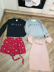 Ladies Clothes Bundle jack wills and Hollister Size 8-10