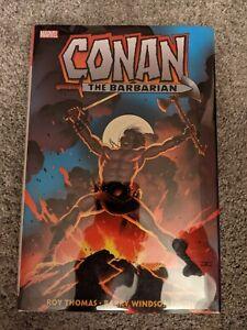 Conan the Barbarian: The Original Marvel Years Omnibus Vol 1 Hardcover HC