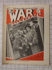The War Illustrated # 88 (Greece, Yugoslavia, Haile Selassie, Afrika Korps, WW2)