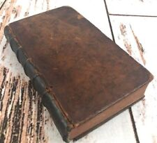 Antique L'Odyssee D'Homere Vol 2 French Book 1756 Leather Calf Bound