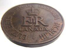 Elizabeth II Regina Coronata Coronation Canada 1953 Token Medal Medallion T200