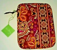 "Vera Bradley Safari Sunset Tablet Sleeve Zippered Case 8"" X 10"" NWT MSRP $38"
