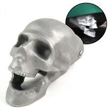 """Skull Muffler Exhaust Tip - 2.5"""" hotrod rat rod truck lowrider donk kustom sbc"""